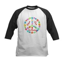 Ice Skating Peace Sign Tee