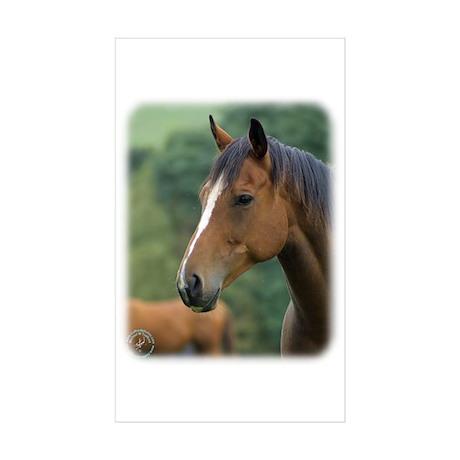 Horse 9A81D-04 Sticker (Rectangle 50 pk)