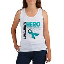Ovarian Cancer Hero Sister Women's Tank Top