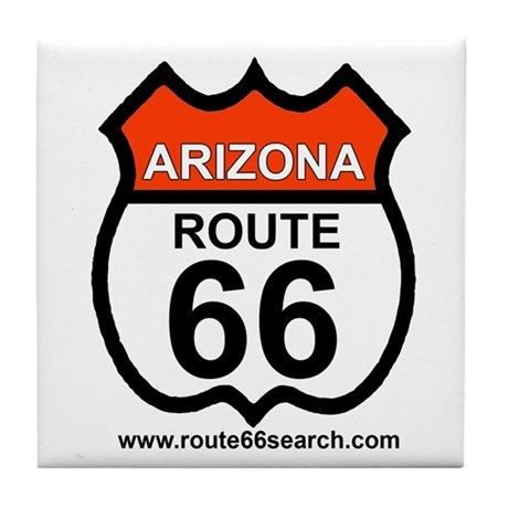 Arizona Route 66 Tile Coaster