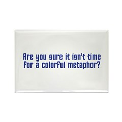 Colorful Metaphor Rectangle Magnet (100 pack)