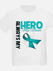 Ovarian Cancer Hero Nana T-Shirt