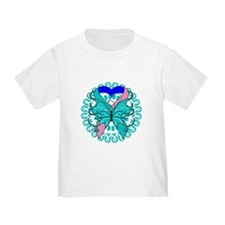 Thyroid Cancer Butterfly T