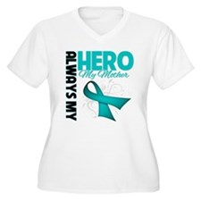 Ovarian Cancer Hero Mother T-Shirt