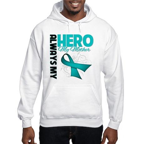 Ovarian Cancer Hero Mother Hooded Sweatshirt