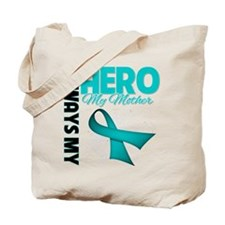 Ovarian Cancer Hero Mother Tote Bag