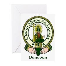 Donovan Clan Motto Greeting Cards (Pk of 10)