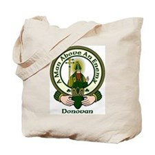 Donovan Clan Motto Tote Bag