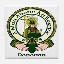 Donovan Clan Motto Ceramic Tile