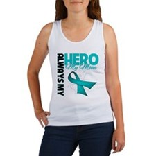 Ovarian Cancer Hero Mom Women's Tank Top