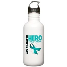 Ovarian Cancer Hero Mom Water Bottle