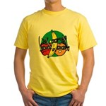 Fruits Fight Back Yellow T-Shirt