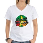 Fruits Fight Back Women's V-Neck T-Shirt