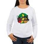 Fruits Fight Back Women's Long Sleeve T-Shirt