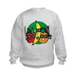 Fruits Fight Back Kids Sweatshirt