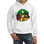 Fruits Fight Back Hooded Sweatshirt