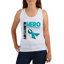 Ovarian Cancer Hero Grandmother Women's Tank Top