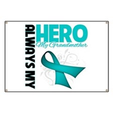 Ovarian Cancer Hero Grandmother Banner