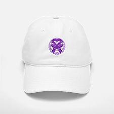 Pancreatic Cancer Butterfly Baseball Baseball Cap