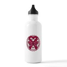 Multiple Myeloma Butterfly Water Bottle