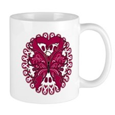 Multiple Myeloma Butterfly Small Mug