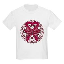 Multiple Myeloma Butterfly Kids Light T-Shirt for