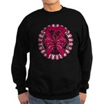 Multiple Myeloma Butterfly Sweatshirt (dark)