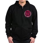 Multiple Myeloma Butterfly Zip Hoodie (dark)