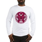 Multiple Myeloma Butterfly Long Sleeve T-Shirt