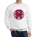 Multiple Myeloma Butterfly Sweatshirt