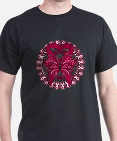 Multiple Myeloma Butterfly T-Shirt