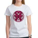 Multiple Myeloma Butterfly Women's T-Shirt