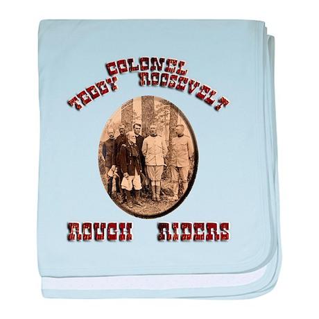 Col Teddy Roosevelt baby blanket