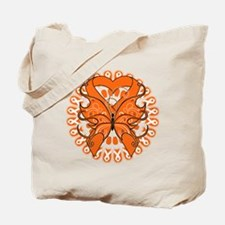 Leukemia Butterfly Tote Bag