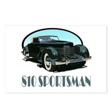 The 810 Sportsman Postcards (Package of 8)