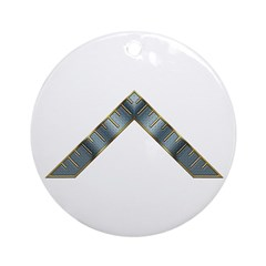 WM of the Lodge Ornament (Round)