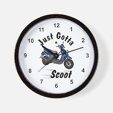 Just Gotta Scoot Zuma Wall Clock