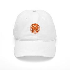Kidney Cancer Butterfly Baseball Cap