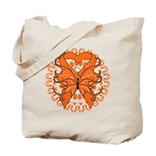 Kidney Cancer Butterfly Tote Bag
