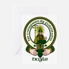 Doyle Clan Motto Greeting Cards (Pk of 10)