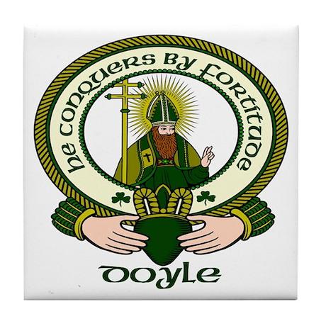 Doyle Clan Motto Ceramic Tile