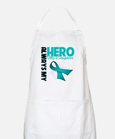 Ovarian Cancer Hero Daughter Apron
