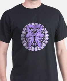 General Cancer Butterfly T-Shirt