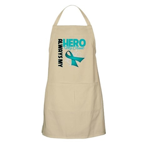 Ovarian Cancer Hero Aunt Apron