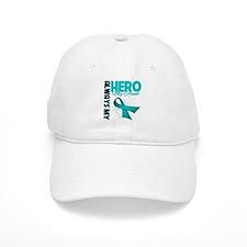 Ovarian Cancer Hero Aunt Baseball Cap