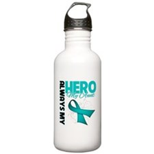 Ovarian Cancer Hero Aunt Sports Water Bottle
