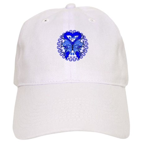 Colon Cancer Butterfly Cap