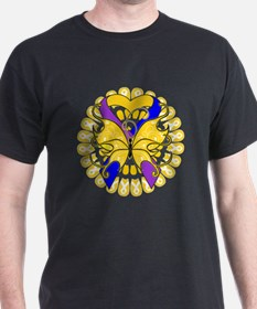 Bladder Cancer Butterfly T-Shirt