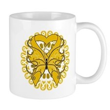 Appendix Cancer Butterfly Small Mug