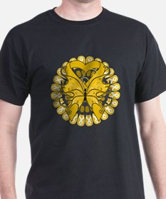 Appendix Cancer Butterfly T-Shirt